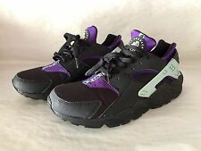 NIKE AIR HUARACHE PURPLE 634835-015 MEN'S 10.5 WOMEN'S 12 UK 9.5 EUR 44.5 *RARE*