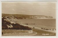 Dorset postcard - Swanage - General View - RP