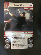 Imperial Officer x1 - Alt Art Promo - Star Wars Imperial Assault Double Faced