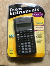 Texas Instruments BAiiplus Financial Calculator Brand New Sealed