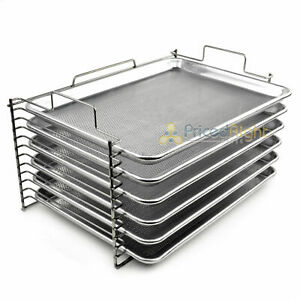 New Bull Rack Grill Tray System BR6 Grilling More Space Jerky Fish Pizza New