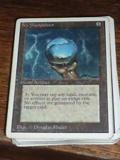 MTG Magic the Gathering ICY MANIPULATOR Unlimited US very RARE used