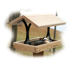 Woodlink Cedar FlyThru Feeder ATFLY Bird Feeder NEW