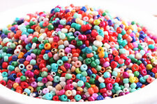 5000 pcs Mixed Color 2mm Glass beads spacer findings charms Ornaments