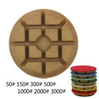 Diamond Polishing Pad Wet 4 Inch Grinding Disc for Granite Marble Concrete Stone