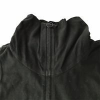 Eileen Fisher Full Zip Jacket Athletic Pullover Mock Neck Collar Women's Medium