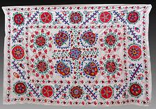 LUXURIOUS SILK  SUZANI  FROM  UZBEKISTAN  BUKHARA #5354