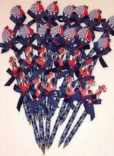 24 pcs baby shower Nautical Sailor pens favors