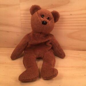 """BEANIE BABIES """"Brown"""" Beautiful Little Teddy Bear Soft Toy Stuffed Friend (Ty)"""