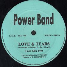 POWER BAND - Love & Tears - Discomagic