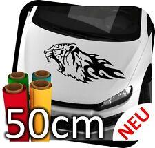 50cm Tiger Tribal Animal Flames Tattoo Tunning Auto Eagle Sticker Aufkleber JDM