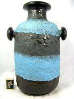 "Rare 70´s design Carstens Keramik pottery "" Lava "" glaze vase 7894 - 40"
