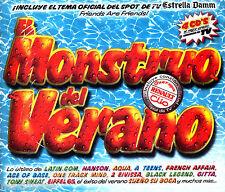 CDx4 - El Monstruo del Verano - Varios (MINT, FACTORY SEALED) LISTEN - OYELO