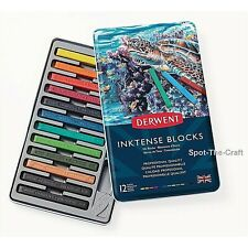 Derwent Inktense Blocks 12 In Set 2300442