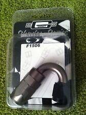 NEW  Mr. Gasket Shadow Series F1506 150 degree Swivel -6 fitting