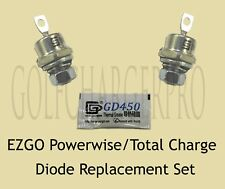 2 X EZGO POWERWISE TOTAL CHARGE RECTIFIER DIODE 18488G1 28548G01 w/HARDWARE