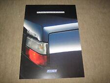 FIAT CROMA opuscolo brochure prospetto di 1/1989, 36 pagine