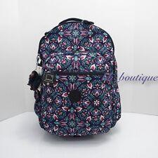 NWT Kipling BP4372 Seoul XL Backpack Laptop Travel Bag Glorious Serenity Multi