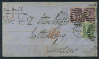Grossbritannien 1871 Brief 60% LONDON, PD