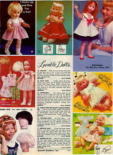 1964 ADVERT Eegee Doll Puppetrina Kiss Me Patti Cake Susan Beauty Parlor