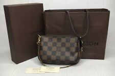LOUIS VUITTON MINI POCHETTE/ WRISTLET Red Interior Lining HTF 2008