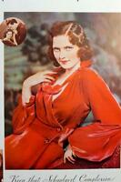 3 Vintage Color Ads 1926 &  1934 Beautiful Models Shabby Chic Decor 10x14