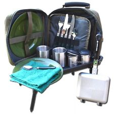 NGT Cutlery Set Bag & Bivvy Table & Toastie Maker Carp Fishing Camping