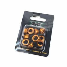 KCNC AL7075 Road Bike Bicycle Cycling PAT.216197 Single Chainring Bolts - Gold