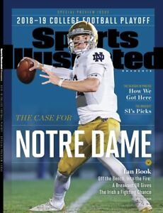 Ian Book Notre Dame Football Sports Illustrated cover Photo - select size