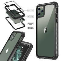 For iPhone 11/11 Pro/11Pro Max Shockproof Case Cover With Screen Protector New