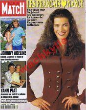 Paris Match 2337 du 10/03/1994 Nancy Kerrygan Spielberg Yann Piat Johnny Adeline