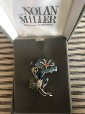 Vintage Nolan Miller Brooch MORNING GLORY from The Glamour Collection Rare