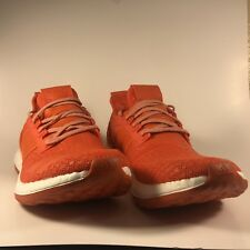 Adidas PureBoost ZG Running Shoes Orange White Mens Size 14 (BA8455 )