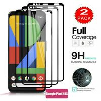 For Google Pixel  4 & 4 3D FULL COVER Tempered Glass Screen Protector [2-Pack]