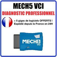 Valise Diagnostique Pro Multimarque En Français Obd Obd2 Diagnostic MECH5 VCI
