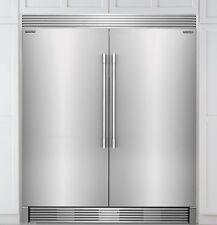 Frigidaire Pro  Stainless Refrigerator Freezer FPRU19F8RF FPFU19F8RF With Trim