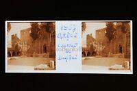 Grecia Monastero Di Daphni Targa Di Vetro Stereo 1957