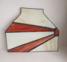 Art Deco Antique Stained Glass