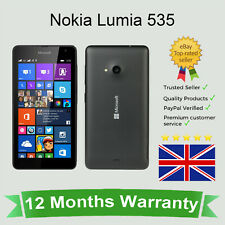 Nokia Lumia 535 sbloccato Dual Sim Windows Phone-Microsoft 8GB Nero