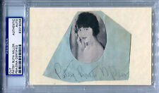 PATSY RUTH MILLER Vintage Signed Cut w/Photo THE HUNCHBACK OF NOTRE DAME PSA/DNA