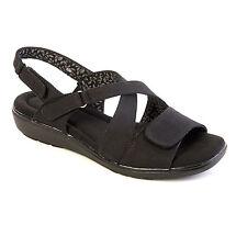 Grasshoppers Sole Elements Coral Women's Black Sandals