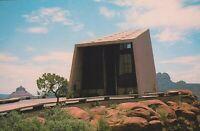 Vintage Arizona AZ Postcard Chapel of the Holy Cross Sedona Church