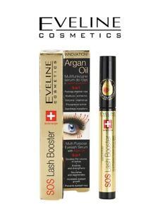 EVELINE SOS Lash Booster 5in1 Eyelash Serum with Argan Oil 10ml