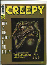 "WARREN CREEPY #20 ""THIS IS THE WORLD OF THE CREEPY!""  (9.0 OR BETTER!) 1967"