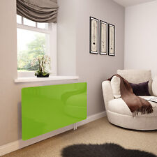 Lime Green Glass Radiator Cover For The Lounge - Extra Large