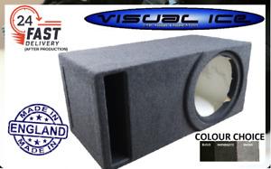"""VISUAL ICE ELITE 15"""" OPTIMUM MDF SLOT PORT SUB BOX SUBWOOFER ENCLOSURE CAR AUDIO"""