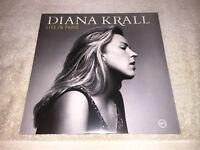 Diana Krall Live in Paris  2xLp Verve Music180g Sealed