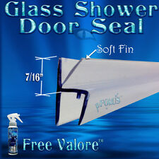 """DS9010 5/16"""" Glass Shower Door Inline Seal for Glass to Glass. 36""""  Free Valroe"""