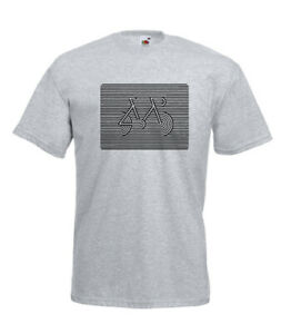 CYCLE STRIPES | Xmas Gift Idea | Mens Women | T SHIRTS | Multi-Color S-2XL