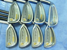 Honma Mens LB280 LEFTY New H&F golf 18K gold 2s 4-10, SW Feather Weight Great!